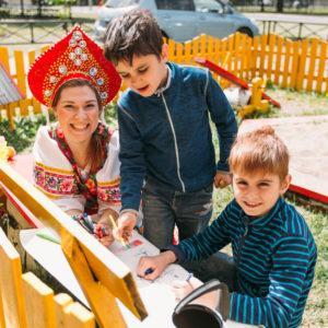 """Праздник Детства в """"Забаве"""" Непокоренных"""