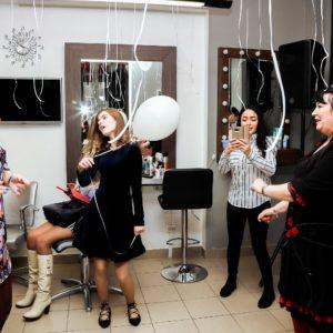 Открытие Салона Красоты «Забава» на Белы Куна